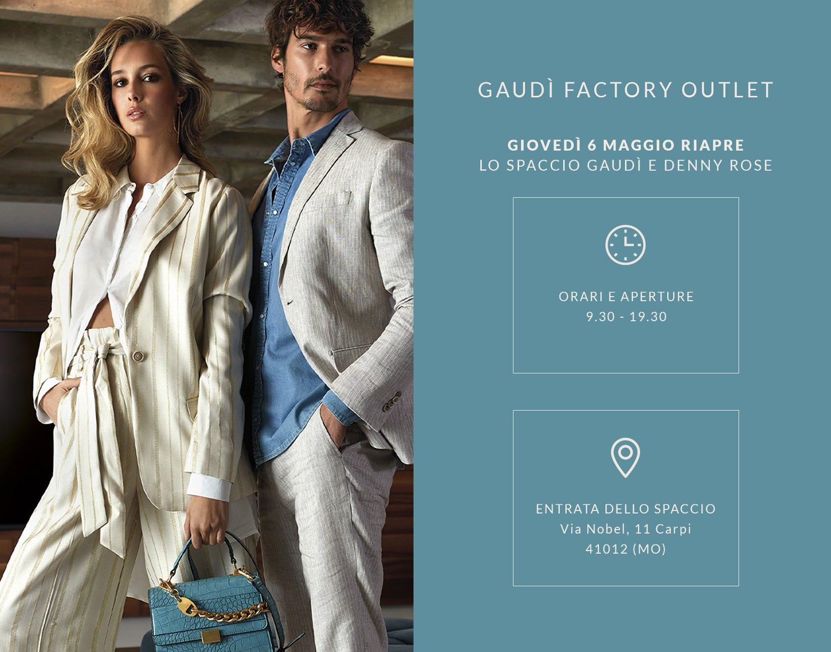 Gaudì Factory Outlet - Riparte il conto alla rovescia